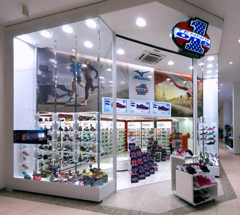 4f0c5c0b8f Tennis One - Shopping Center La Plage Guarujá